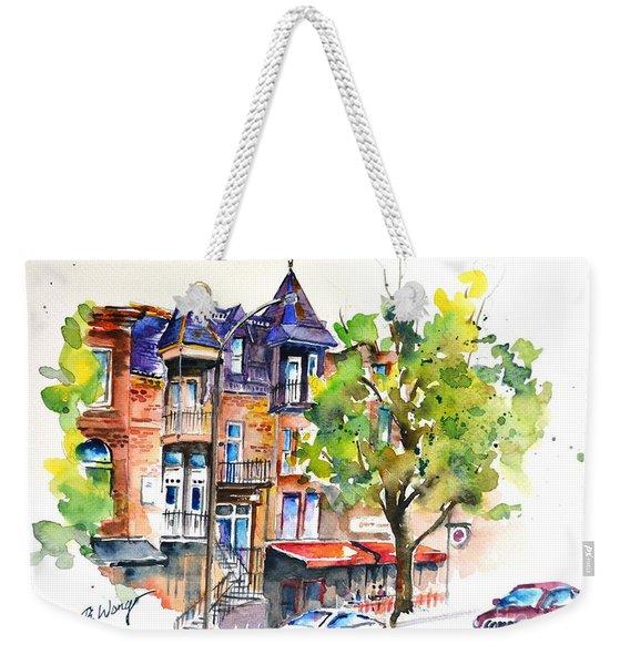 Montreal - 2 Weekender Tote Bag