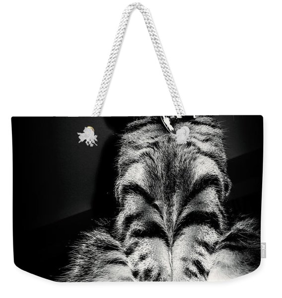 Monty Our Precious Cat Weekender Tote Bag