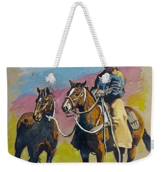 Monty Roberts Weekender Tote Bag