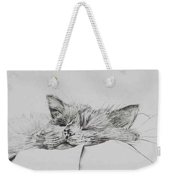 Monty  Sleepy Boy Weekender Tote Bag