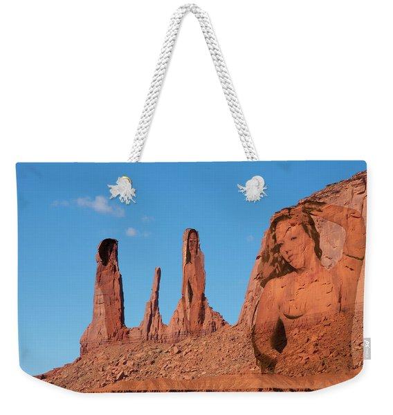 Monument Valley Nymph #3 Weekender Tote Bag