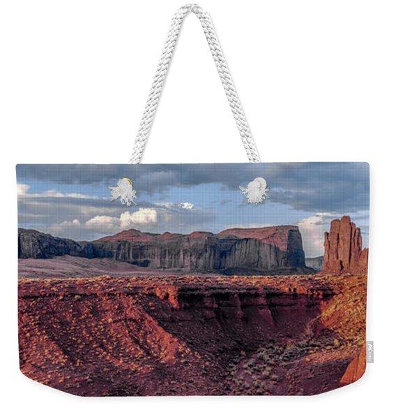 Monument Valley Sunrise Weekender Tote Bag