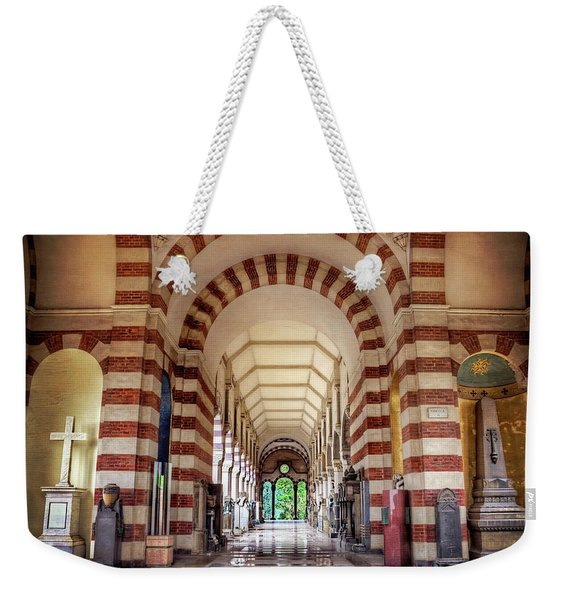 Monumental Cemetery In Milan Italy  Weekender Tote Bag