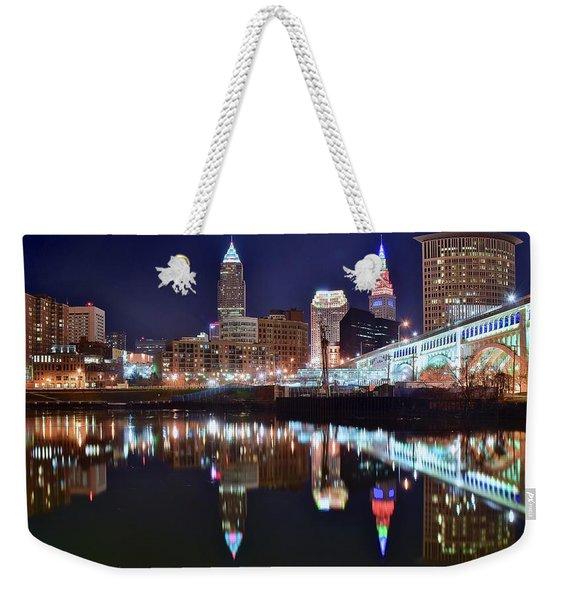 Mood Lighting Weekender Tote Bag
