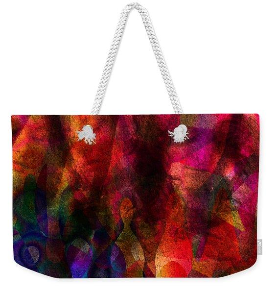Moods In Abstract Weekender Tote Bag