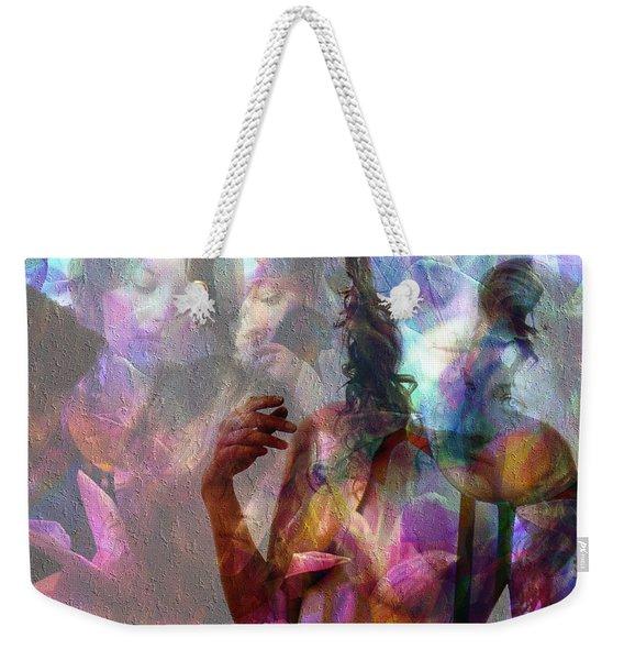 Moods In Abstract Pastel Weekender Tote Bag
