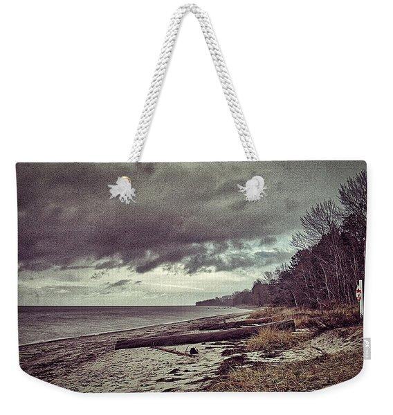 Moody Beach Weekender Tote Bag