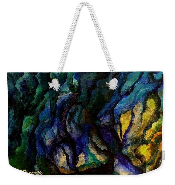 Moody Bleu Weekender Tote Bag