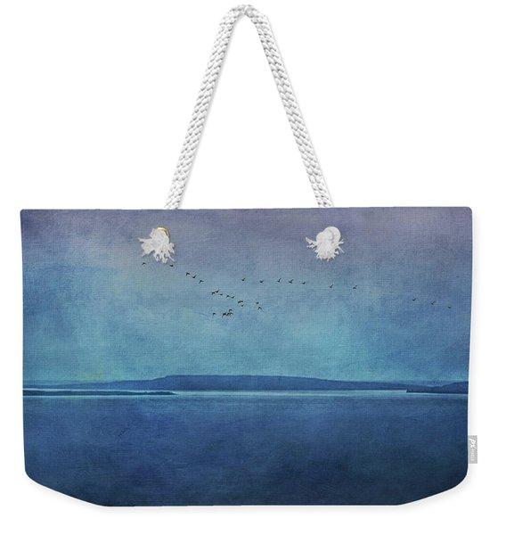 Moody  Blues - A Landscape Weekender Tote Bag