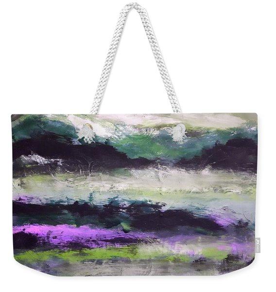 Moody Lake Weekender Tote Bag