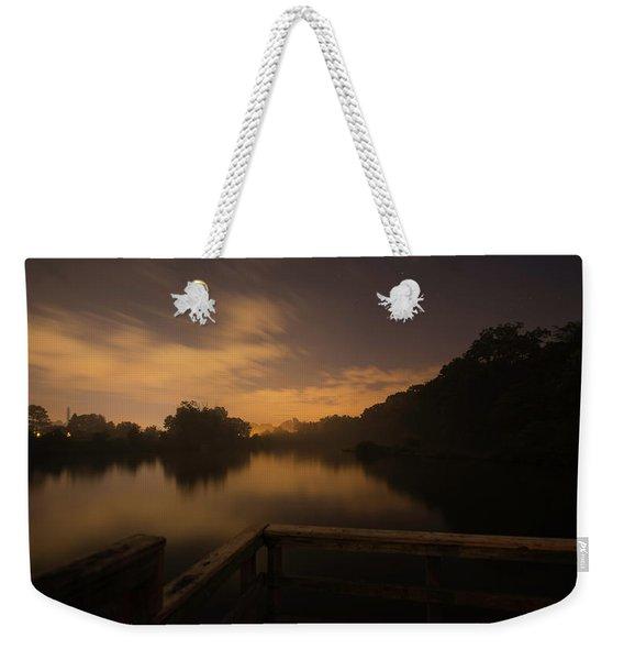 Moody View Weekender Tote Bag