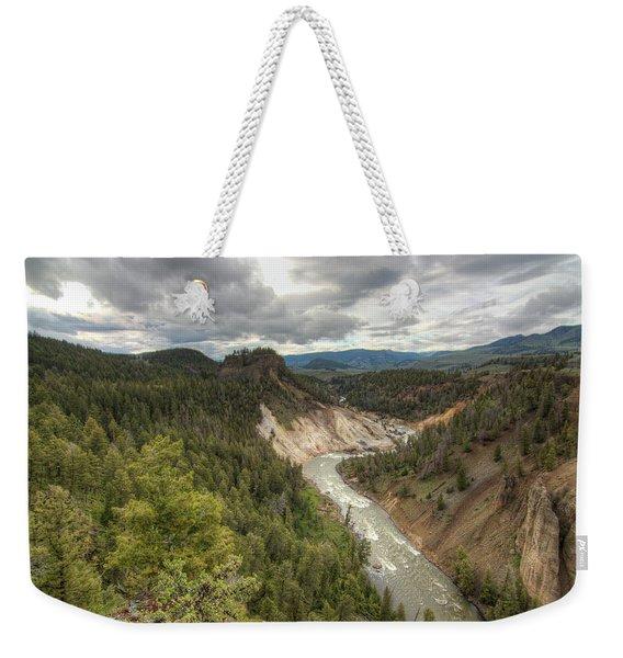 Moody Yellowstone Weekender Tote Bag