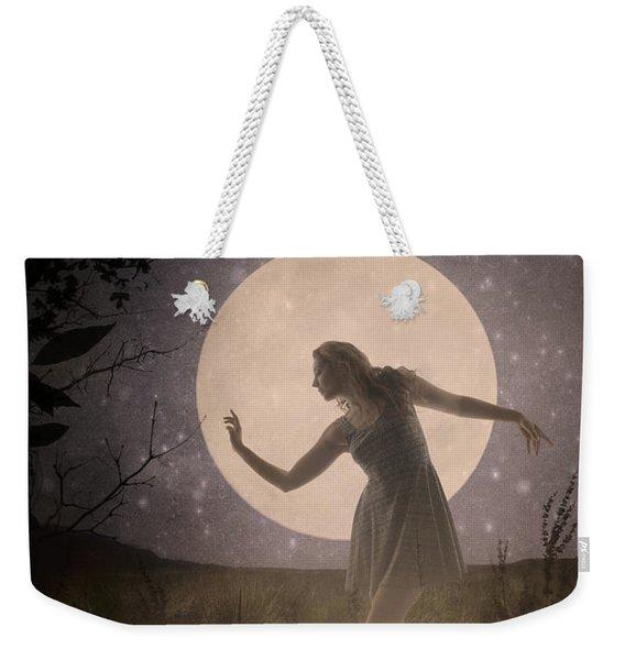 Moon Dance 001 Weekender Tote Bag