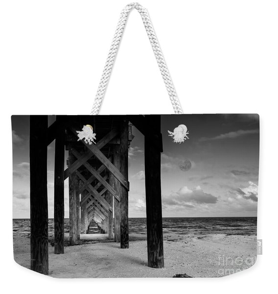 Moon Deck Weekender Tote Bag