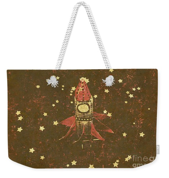 Moon Landings And Childhood Memories Weekender Tote Bag
