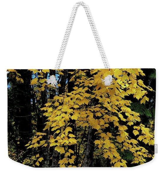 Moon Maple 2 Weekender Tote Bag