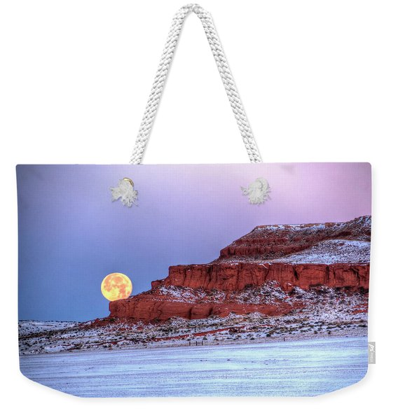 Moon Of The Popping Trees Weekender Tote Bag