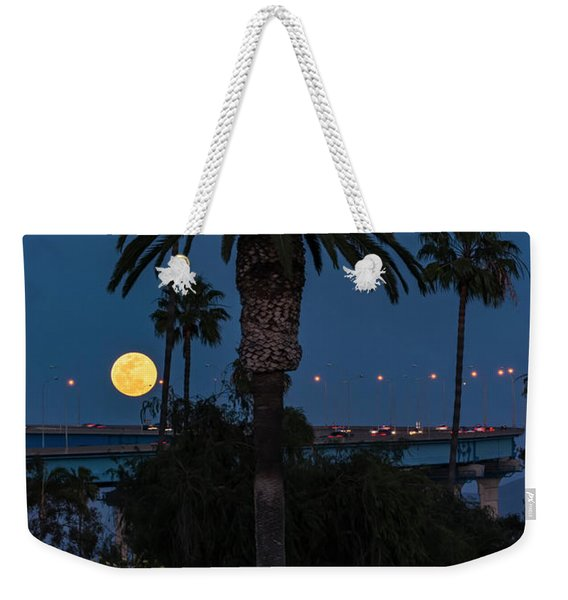 Moon On The Rise Weekender Tote Bag