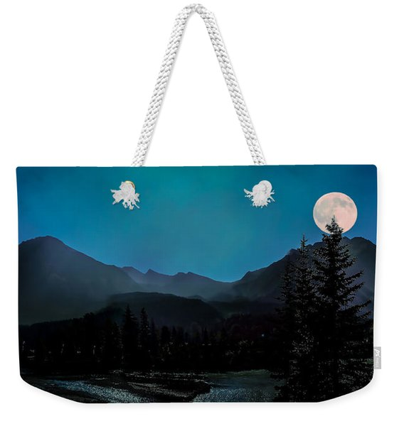 Moon Over Field Bc Weekender Tote Bag