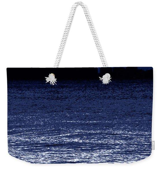 Moon Shine Weekender Tote Bag