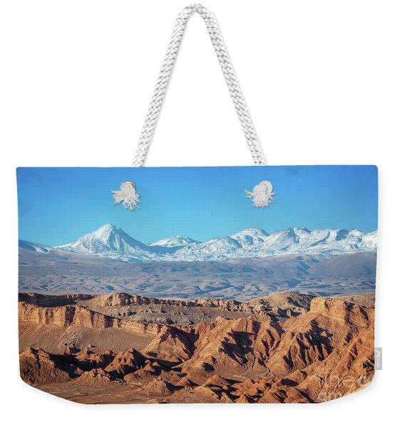 Moon Valley Atacama Desert Weekender Tote Bag