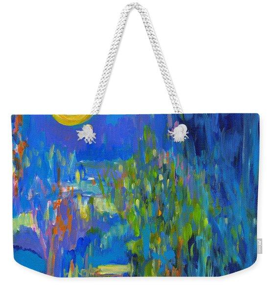 Moonflower  Weekender Tote Bag
