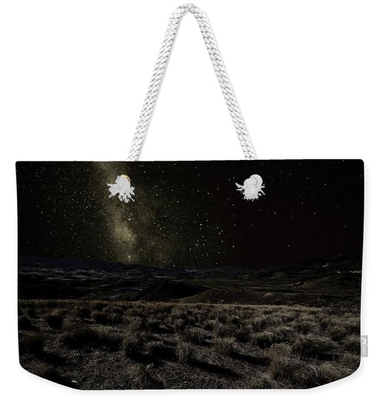 Moonlight And The Milky Way Weekender Tote Bag