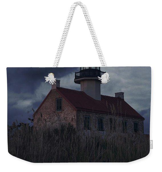Moonlight At East Point Weekender Tote Bag