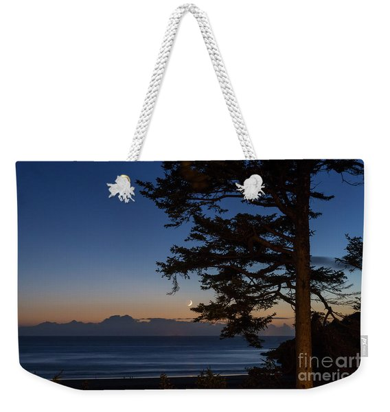 Moonlight At The Beach Weekender Tote Bag