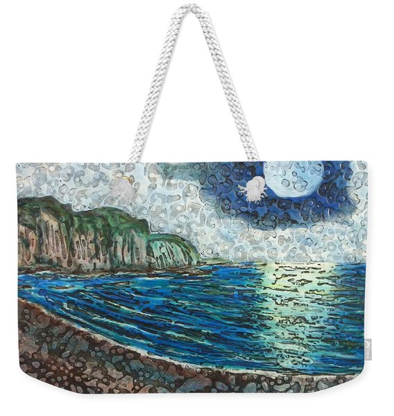 Moonlight In Pourvill Weekender Tote Bag