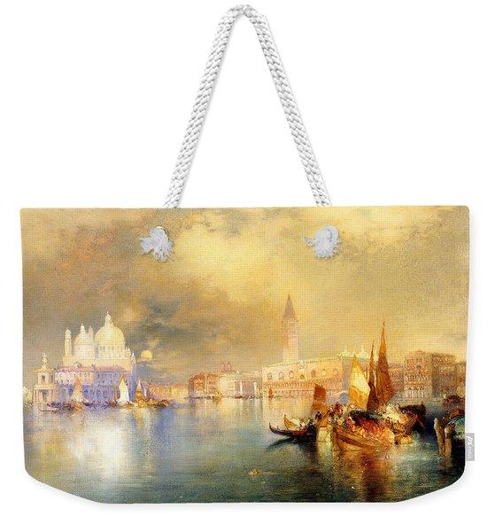 Moonlight In Venice Weekender Tote Bag