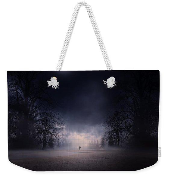 Moonlight Journey Weekender Tote Bag