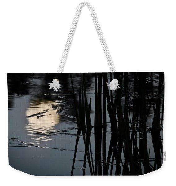 Moonlight Reflections Weekender Tote Bag