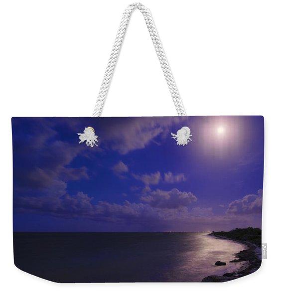 Moonlight Sonata Weekender Tote Bag