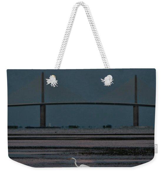 Moonlight Stroll Weekender Tote Bag