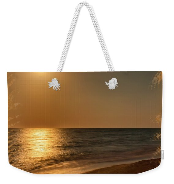 Moonscape 3 Weekender Tote Bag