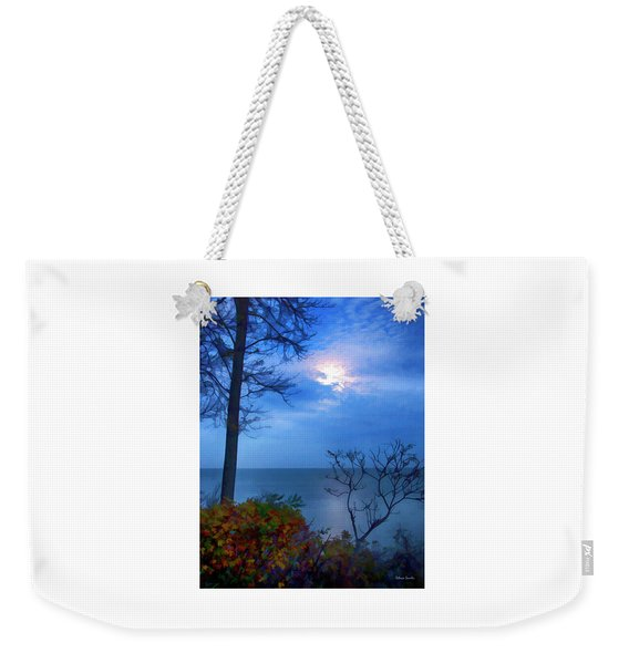 Moonset 1 Weekender Tote Bag