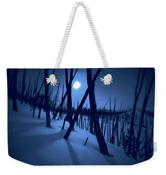 Moonshadows Weekender Tote Bag