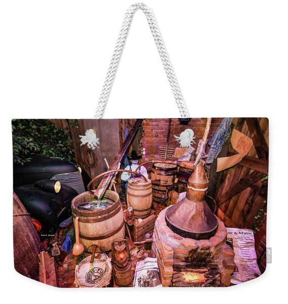 Moonshine Still Weekender Tote Bag