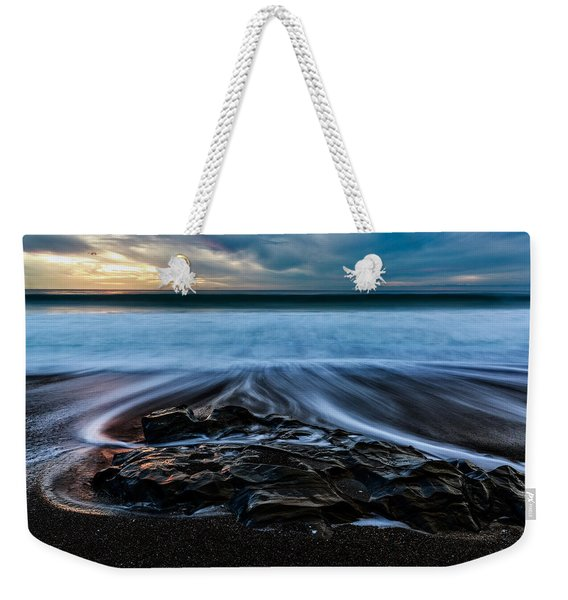 Moonstone Beach In The New Year Weekender Tote Bag