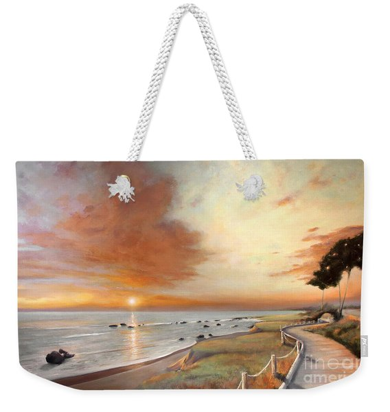 Moonstone Cambria Sunset Weekender Tote Bag