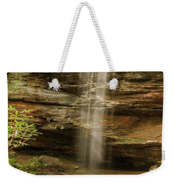 Moore Cove Falls Weekender Tote Bag