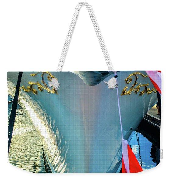 Moored Weekender Tote Bag