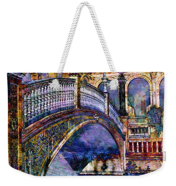 Moorish Bridge Weekender Tote Bag