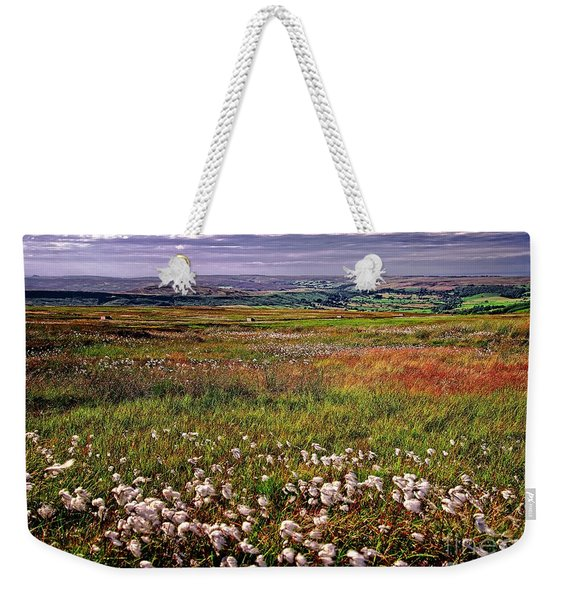 Moorland Cottongrass Weekender Tote Bag
