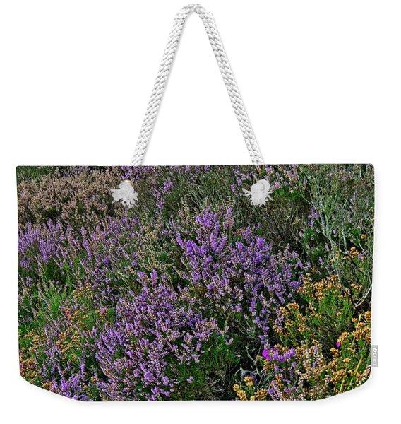 Moorland Heather Weekender Tote Bag