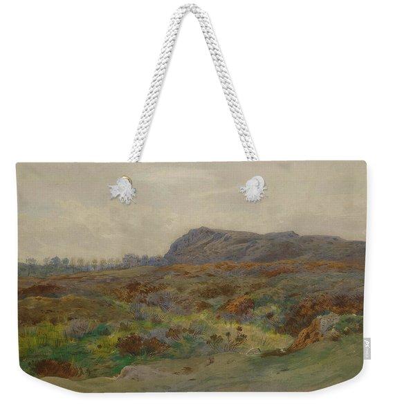 Moorland Landscape By Thorburn Weekender Tote Bag