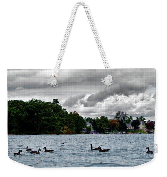 Moose Beach Point Weekender Tote Bag