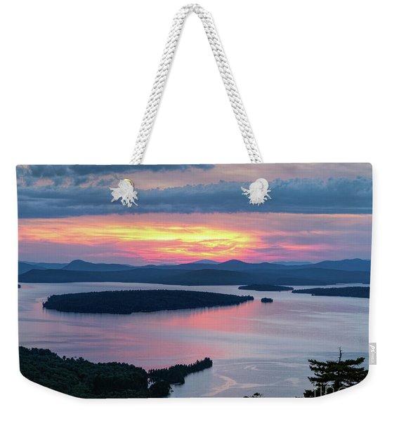 Mooselookmeguntic Lake In The Last Light Of Day - Rangeley Me  -63430 Weekender Tote Bag