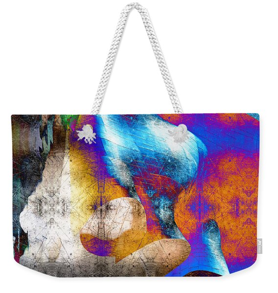 Weekender Tote Bag featuring the photograph Mopop by Michael Hope